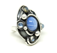 Maxwell Chayat Ring - American Modernist -Star Sapphire