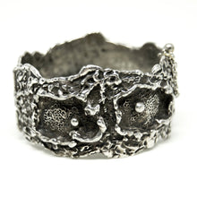 Load image into Gallery viewer, Guy Vidal Cuff Bracelet - Craters and Divots