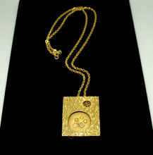 Load image into Gallery viewer, Rare Guy Vidal Shadow Box Necklace - Double Sided Modernist