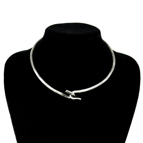Art Smith Minimal Necklace - Sterling Silver - American Modernist