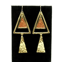 Anne Dick Earrings - Kinetic Triangles - Modernist