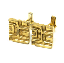 Load image into Gallery viewer, Bernard Chaudron Cufflinks - Textured Grooves