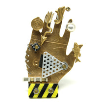 Thomas Mann Pin - Palmistry - Thechno Romantic - Hand Brooch