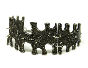 Early Guy Vidal Cuff Bracelet - Textured Puzzle