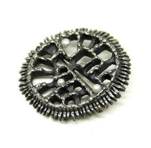 Load image into Gallery viewer, Guy Vidal Sun Brooch - Modernist Sunflower