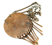 Early Rafael Canada Necklace Copper - Kinetic - Earthy Glass