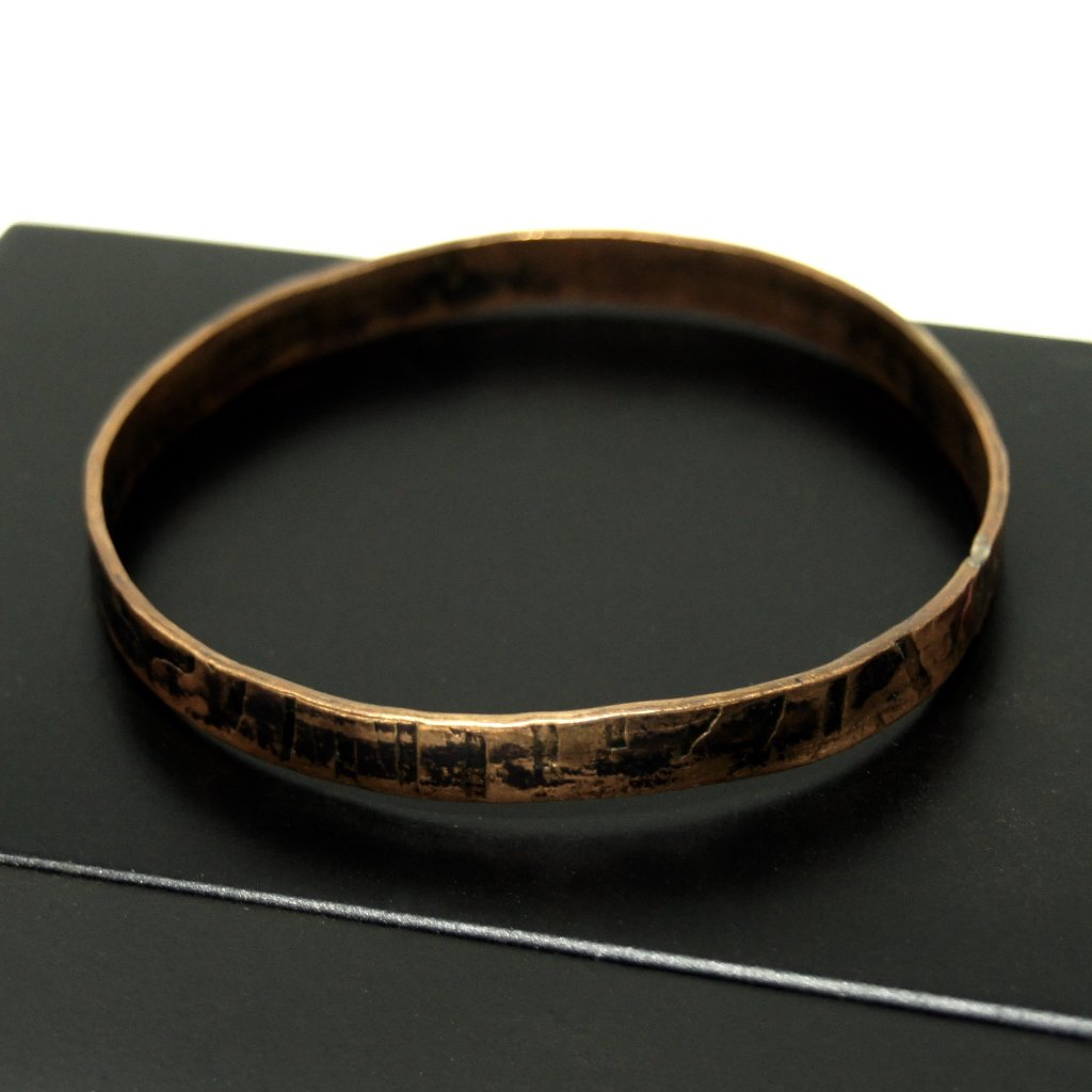 Rafael Canada Bangle Bracelet - Modernist Copper