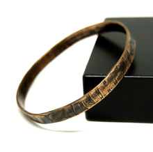 Load image into Gallery viewer, Rafael Canada Bangle Bracelet - Modernist Copper