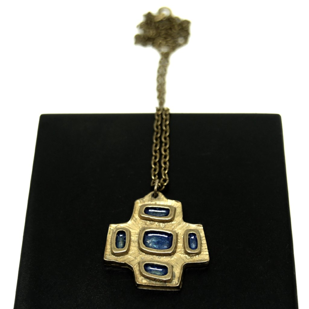 Bernard Chaudron Necklace - Modernist Cross