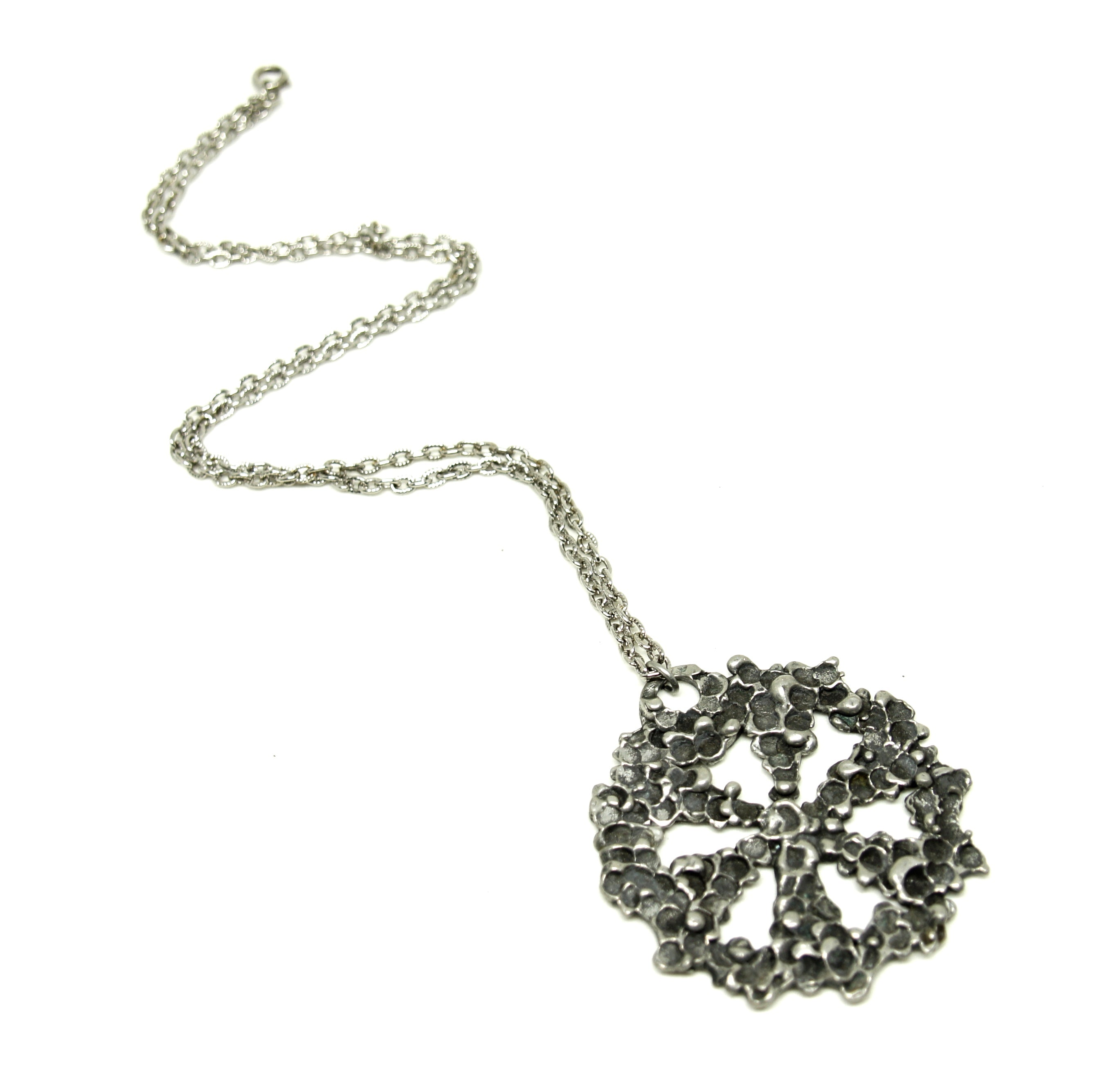 Robert Larin Necklace - Snowflake - Brutalist Modernist