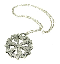 Load image into Gallery viewer, Robert Larin Necklace - Snowflake - Brutalist Modernist