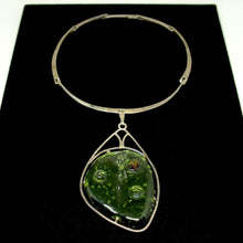 Rare George Dancy Necklace - Sterling Glass - Ontario Canadian Modernist