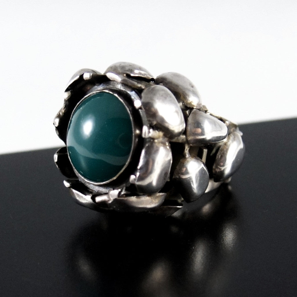 Rachel Gera Massive Sterling Ring - Modernist