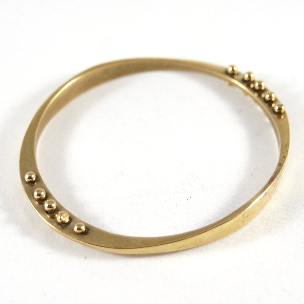 Jack Boyd Bracelet - Kinetic Bronze Bangle