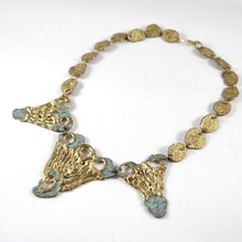 Early Anne Dick Necklace - Verdigris Bronze