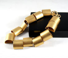 Large Martha Sturdy Necklace - Choker Industrial Geometric