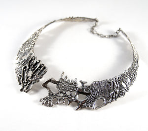 Rare Guy Vidal Bib Necklace - Organic