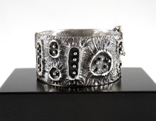Load image into Gallery viewer, Guy Vidal Cuff Bracelet - Moon Crater
