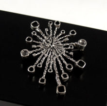 Guy Vidal Starburst Brooch