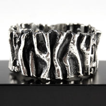 Guy Vidal Cuff Bracelet - Folded Metal