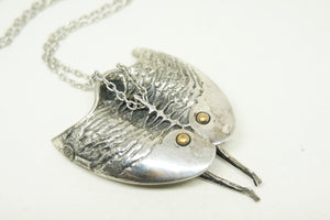 Rare Guy Vidal Stingray Figural Necklace - Brutalist Modernist