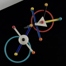 Load image into Gallery viewer, Eve Kaplin Mobile Brooch - Kinetic Satellite - Memphis Design