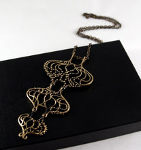 Hannu Ikonen Rainy Days Necklace - Bronze