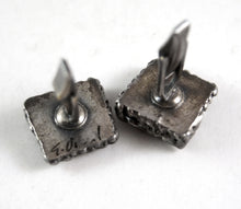 Early Guy Vidal Cufflinks - Lines and Dots - Hand Signed