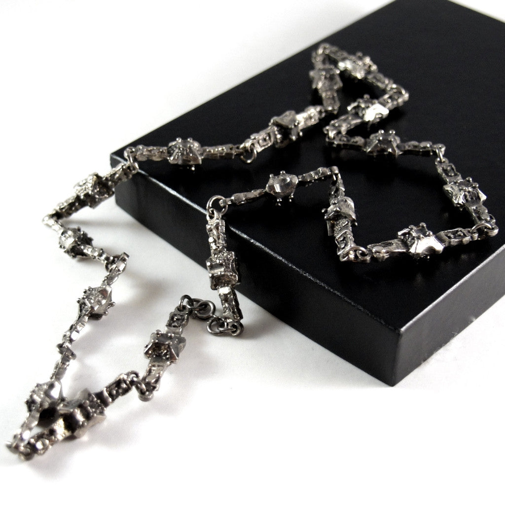Robert Larin Chain Necklace - Knobbly Links