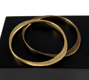 Jack Boyd Bangle Set - Oval Bronze