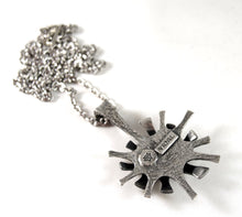 Load image into Gallery viewer, Rare Guy Vidal Super Nova Necklace - Starburst Modernist