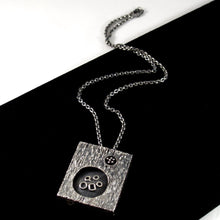 Rare Guy Vidal Shadow Box Necklace - Double Sided Modernist
