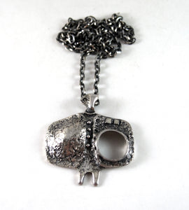 Rare Guy Vidal Humanoid Necklace - Brutalist Surface