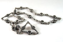 Load image into Gallery viewer, Guy Vidal Pod Chain Necklace - Modernist Brutalist