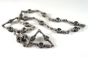 Guy Vidal Pod Chain Necklace - Modernist Brutalist