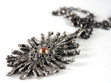 Large Robert Larin Necklace - Super Nova - Brutalist Modernist