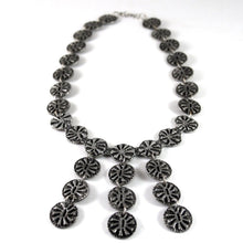 Load image into Gallery viewer, Rare Robert Larin Bib Necklace - Stars - Modernist Brutalist