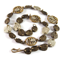 Early Anne Dick Necklace - Mixed Metals - Brutalist