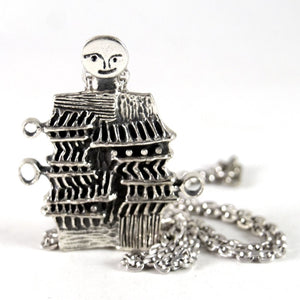 Rare Guy Vidal Humanoid Necklace - Modernist