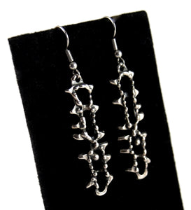 Guy Vidal Jagged Earrings - Brutalist