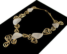 Load image into Gallery viewer, Joseph Boris Spirals Necklace - Mixed Metal - Modernist