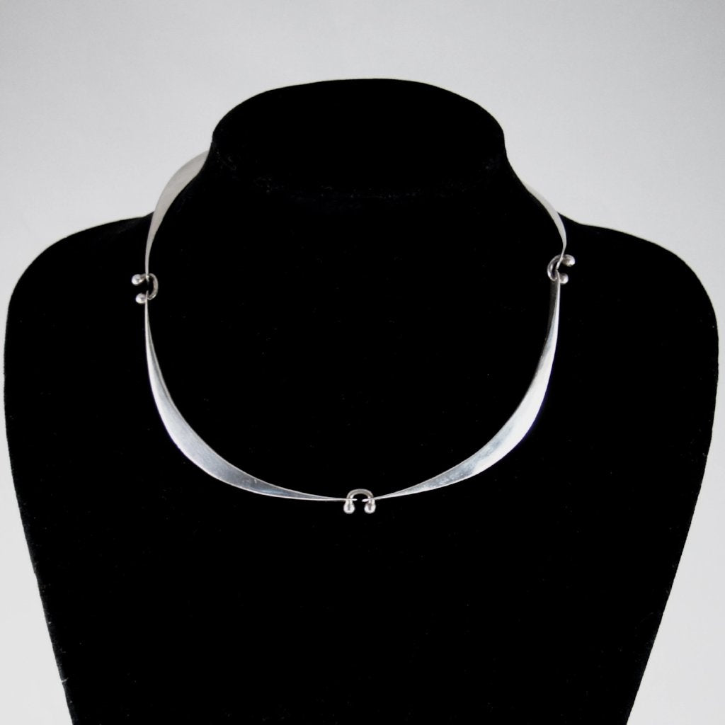 Jack Boyd Necklace - Sterling Choker Modernist