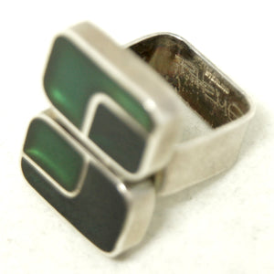 Large Gilbert Rheme Ring - Opposites