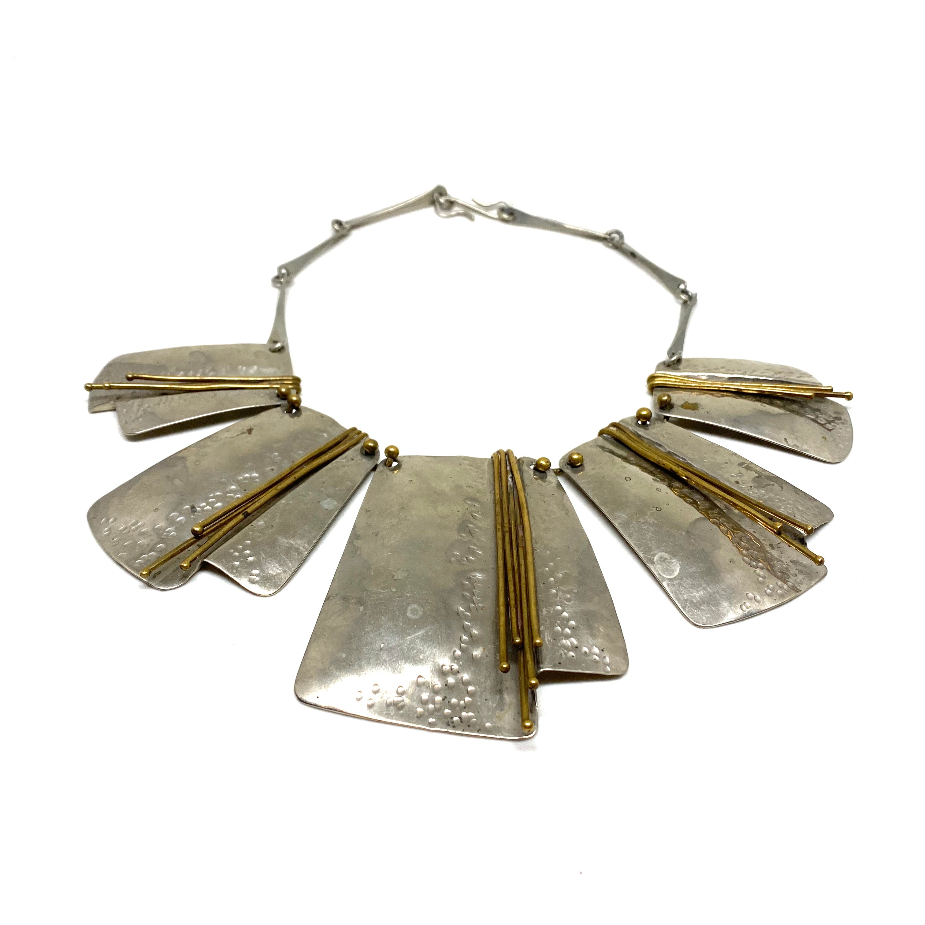 Large Joseph Boris Necklace  - Modernist Brutalist