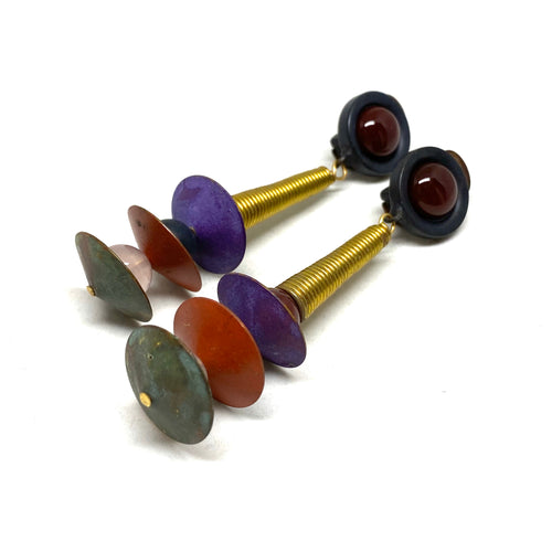 Dannah Gripoix Earrings - Memphis Design