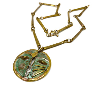 Armando Lozano Necklace - Double Profile