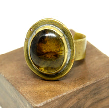 Rafael Alfandary Ring - Honey Yellow - Brass