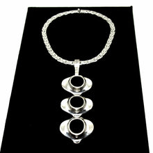 Load image into Gallery viewer, Rare Guy Vidal Necklace - Kinetic Choker - Textured Discs