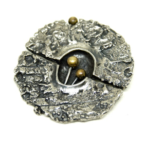 Rare Guy Vidal Brooch - Modernist Mushrooms