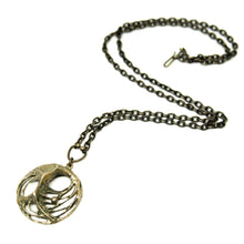 Load image into Gallery viewer, Bronze Karl Laine Web Necklace - Modernist Nordic